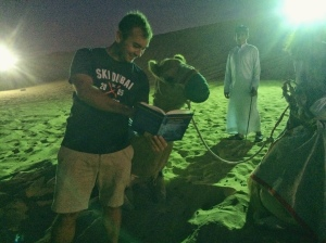 "Even camels in Dubai enjoy reading ""Global Markets and Government Regulation in Telecommunications"""